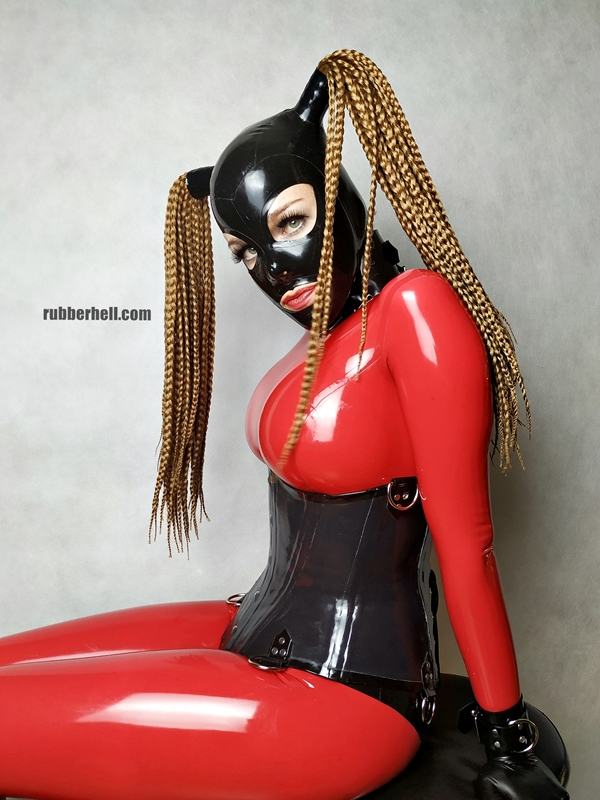 big-boobs-in-red-latex-catsuit-10