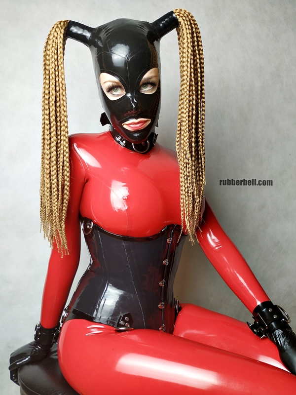 big-boobs-in-red-latex-catsuit-14