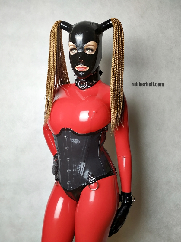 big-boobs-in-red-latex-catsuit-16