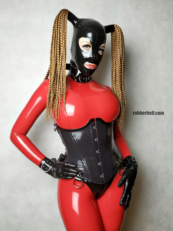 big-boobs-in-red-latex-catsuit-17
