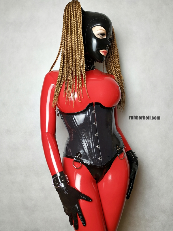 big-boobs-in-red-latex-catsuit-18