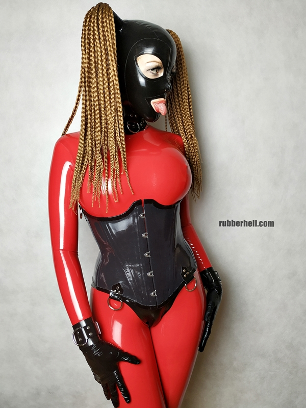 big-boobs-in-red-latex-catsuit-19