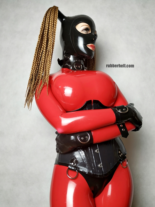big-boobs-in-red-latex-catsuit-21