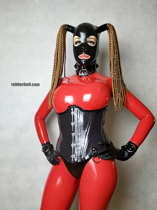 big-boobs-in-red-latex-catsuit-29