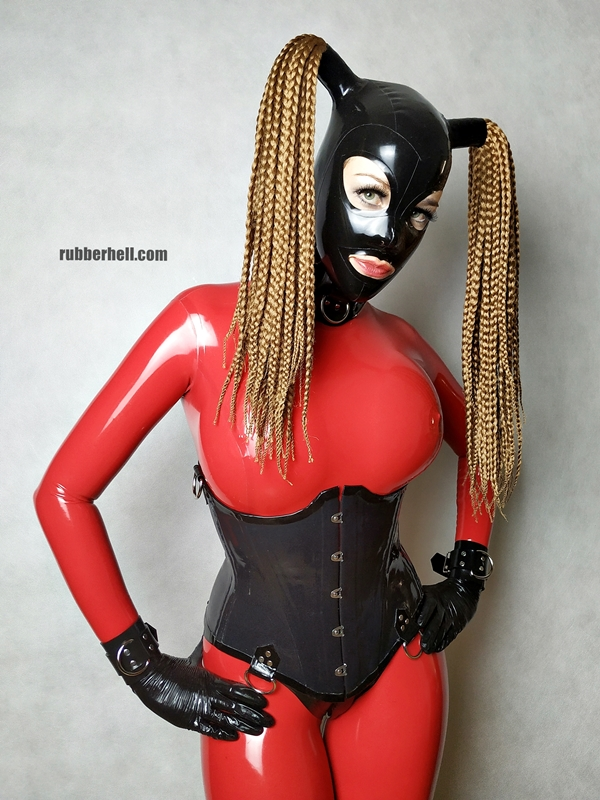 big-boobs-in-red-latex-catsuit-30
