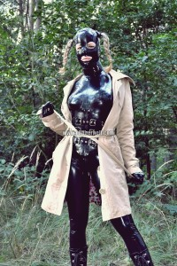 walking-by-the-shadow-of-forest-in-full-rubber-enclosure-rubberhell