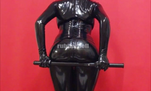 long-rubber-police-baton-video