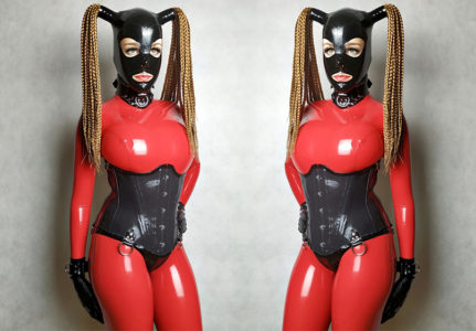 big-boobs-in-red-latex-catsuit